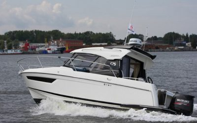 Parker 750 Cabin Cruiser mit Suzuki DF 175
